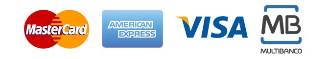 Logotipos de meios de pagamento deste site